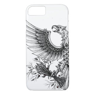 Eagle Pointillism Style - Iphone 8/7 Case
