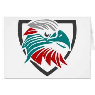Eagle Pride And Protection Card