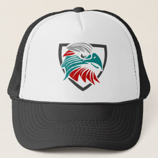 Eagle Pride And Protection Trucker Hat