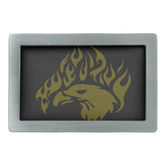 Eagle Rectangular Belt Buckle
