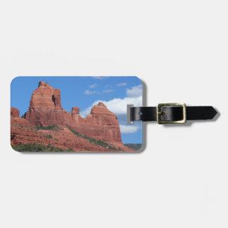 Eagle Rock I Sedona Arizona Travel Photography Luggage Tag