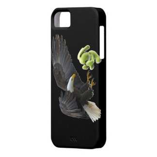 Eagle scares to a teddy iPhone 5 cases