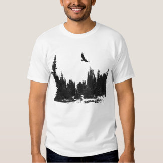 Eagle Scene T-shirt
