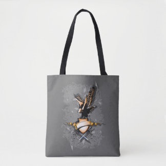 Eagle Shield All-Over-Print Tote Bag