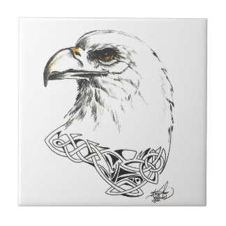 Eagle Small Square Tile