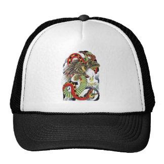 Eagle Snake tattoo design Trucker Hat