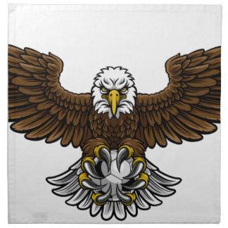 Eagle Soccer Football Mascot Napkin