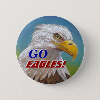EAGLE SPIRIT 6 CM ROUND BADGE