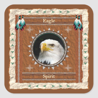 Eagle -Spirit- Stickers - 20 per sheet