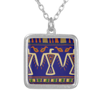 Eagle Spirits Silver Plated Necklace