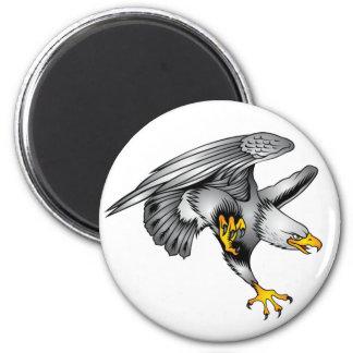 Eagle - Standard, 2¼ Inch Round Magnet
