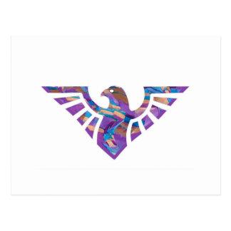 Eagle Stencil Silhouette 16 Postcard