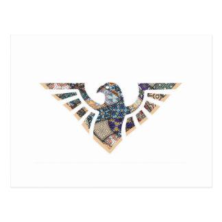 Eagle Stencil Silhouette 19 Postcard