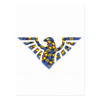 Eagle Stencil Silhouette 20 Postcard