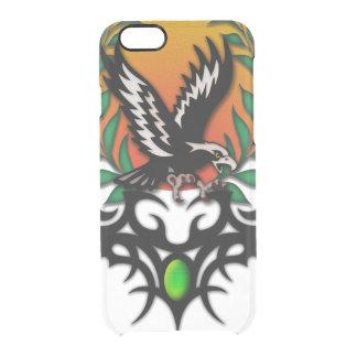 Eagle Sun, tribal jewel Clear iPhone 6/6S Case