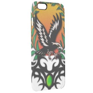 Eagle Sun, tribal jewel Clear iPhone 6 Plus Case