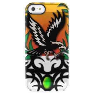 Eagle Sun, tribal jewel Clear iPhone SE/5/5s Case