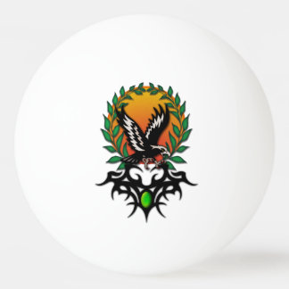 Eagle Sun, tribal jewel Ping Pong Ball