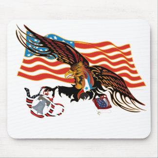 Eagle-Tea-Part-Ver-4 Mouse Pad