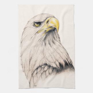 Eagle Tea Towel