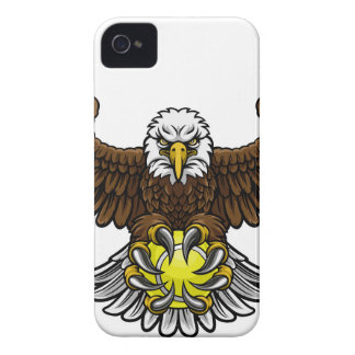 Eagle Tennis Sports Mascot iPhone 4 Case-Mate Cases