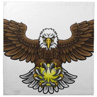 Eagle Tennis Sports Mascot Napkin