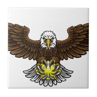 Eagle Tennis Sports Mascot Tile