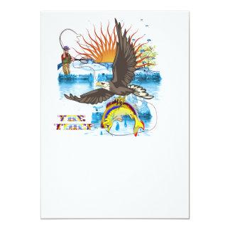 Eagle-Thief-3 13 Cm X 18 Cm Invitation Card