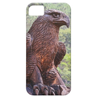 Eagle totem carving, Portugal 2 Case For The iPhone 5