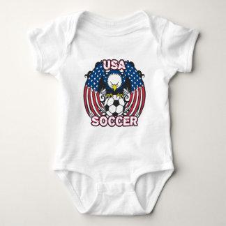Eagle USA Soccer Baby Bodysuit