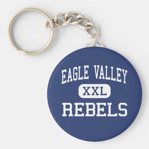 Eagle Valley - Rebels - High - Eagle Bend Keychain