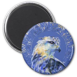 Eagle watercolor illustration magnet
