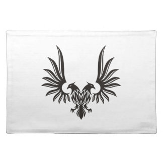 Eagle with two heads placemat