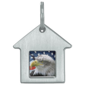 EagleHouse. Give your four-legged friend the best. Pet ID Tag