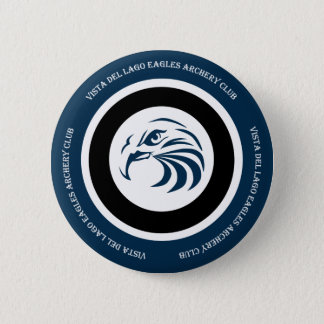 Eagles Archery Club Items 6 Cm Round Badge