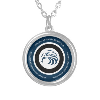 Eagles Archery Club Items Silver Plated Necklace
