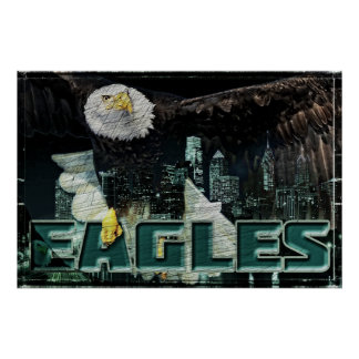 Eagles Football Poster