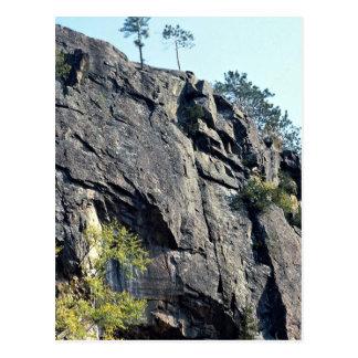 Eagle's nest, Bancroft, Ontario, Canada rock forma Postcard