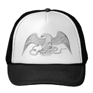 Eaglewith snake hat