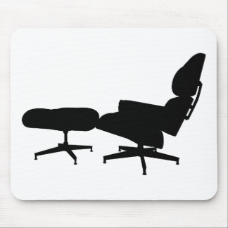Eames Lounge Chair & Ottoman Mouse Pad
