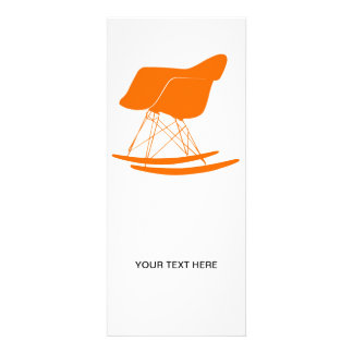 Eames molded plastic rocking chair personalized announcements