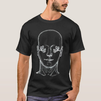 Ear Anatomy Diagram T-Shirt