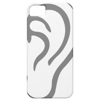 Ear Listening iPhone 5 Covers