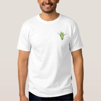 Ear Of Corn Embroidered T-Shirt