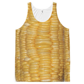 Ear of Corn Halloween Costume All-Over Print Singlet