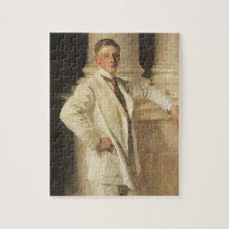 Earl of Dalhousie by Sargent, Vintage Portrait Art Jigsaw Puzzle