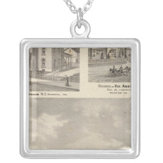 Earlham College, Richmond Silver Plated Necklace