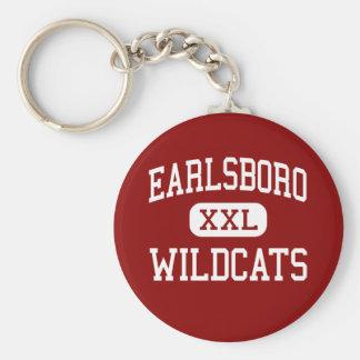 Earlsboro - Wildcats - High - Earlsboro Oklahoma Key Ring