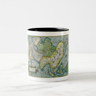 Early 16th Century Map of Asia Mug