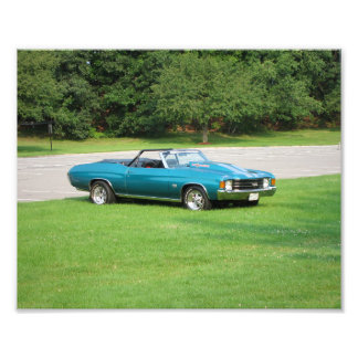 Early 1970's Chevy Chevelle Photo Print